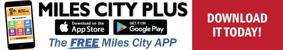 Download the Miles City Plus App today!
